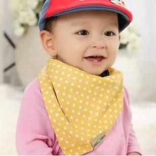 cotton baby bandana bibs cartoon infant toddler burp cloths infant saliva towels baby head scarf bibs free shipping WZ26(China (Mainland))