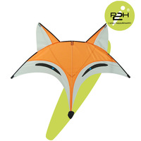 IP2H kite suits/fox kite/umbrella cloth/kite reel+lock/kite line 1000feet / 95*80cm