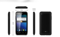 original phone ZTE V889S 4'' 800x480 screen MTK6577 Dual Core Android 4.1 512M/4G  student phone gift