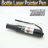 Bottle Laser 200mW Green Laser Pointer Pen 532 nm green