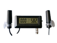PH and EC Monitor with power adaptor replaceable pH electrode