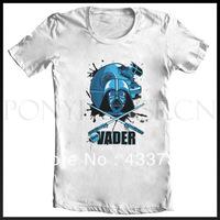 Star wars Vader short-sleeve men t shirt  2 color S-XXXL, original design t shirt