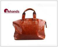 2014 Men Genuine Leather Bags Brown Handbags Casual Purses Travel Bag Brand Messenger BH9107+Free Shipping