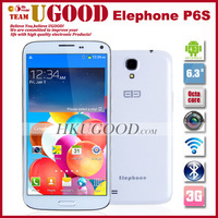 New Elephone P6 Mega I9200 MTK6589T Quad Core 1.5Ghz 2G RAM 32G ROM Android 4.2 Os 6.3Inch Screen 8.0Mp Camera Freeshipping