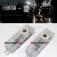car LED door step courtesy laser projector Shadow Logo Warning lights for Land Rover Range LR2 LR4 HSE Sport