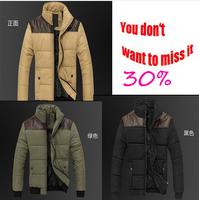 New 2014 long winter jacket men men jackets  thicken jackets for men mens clothing fashion teen jacket