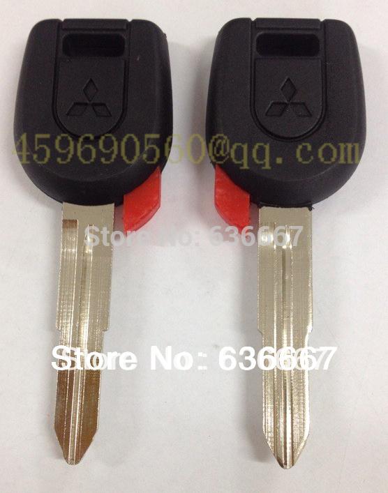 KL6 Mitsubishi key case shell high quality car key blank FREE SHIPPING(China (Mainland))