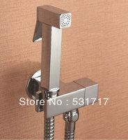 Solid Brass Multifunctional toilet valve copper toilet angle valve spray gun set bidet mixing valve bidet
