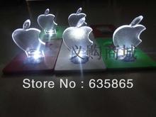 Free shipping 2014 creative fashion Apple Shape LED Card Light Christmas card lights(China (Mainland))