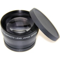 new 52MM 2X TELEPHOTO LENS FOR NIKON D5100 D3100 D60 D90 free shipping+tracking number