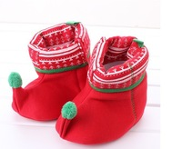 100% Cotton Warm Boots Soft Outsole  Baby Shoes Boot Toddler Shoes autumn and winter Baby Shoes Retail wholesale