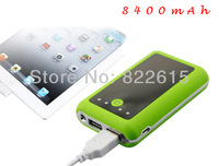 New 8400mAh Dual USB Power Bank Portable Mobile Battery Charger For Apple iPhhone iPad Samsung Galaxy Note 5 Colors