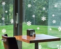 Free shipping1 SET 11 pcs Wedding decoration  snowflakes Window/glass/cabinet post decoration stickers