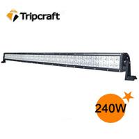 240W LED LIGHT BAR WORK LIGHT FLOOD & SPOT COMBO 4WD BOAT UTE DRIVING LAMP