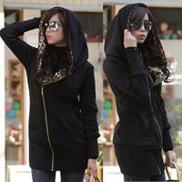 Hot Sale cheap women Long sleeve hoodie cardigans coat women's hoodie sports wear Track hoodie sweatshirt nz134