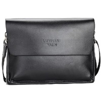 2013 New Man Genuine Leather Handbag Male Business Dress Bags Men's Shoulder Bag Messenger Bags Wholesale Price