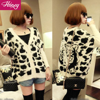 Free Shipping  Sleeve  Ladies Fashion Sweater Regular Colorful  Cardigans Full Sleeve  JJFS 9903