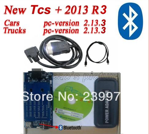 Neueste bluetooth tcs auto-scanner cdp pro plus led Kabel/licht