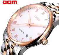 Dom watch automatic mechanical watch male watch commercial watch waterproof mens stainless steel strip