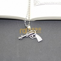 2 Years Warranty Revolver Bullet Ball Bead Chain Stainless Steel Necklace Preferential Factory Outlet