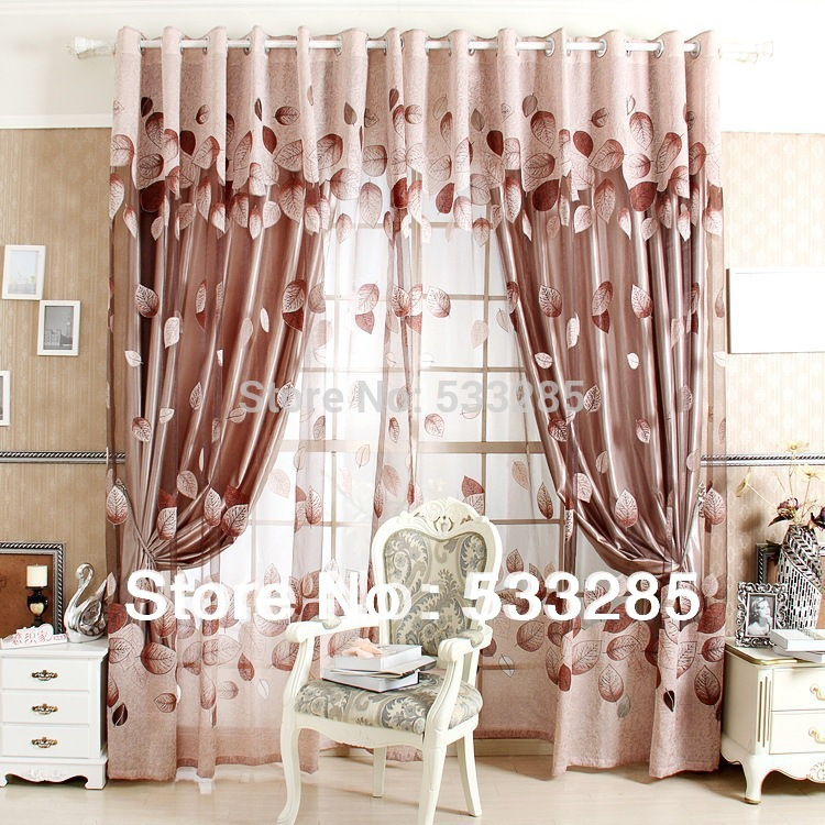 Buy voile blinds new 2014 curtains for windows screen living room window - Window curtain designs for homes ...
