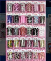 Cool 100*4cm (56pcs/lot 56designs) 2014 new arrival nail supplier decoration nail art Transfer foil sticker