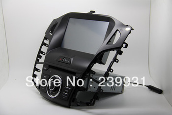 "One din 8"" Ford Focus 2012 Car DVD Player GPS Navi with Radio RDS Bluetooth phone book dual zone Multi language"