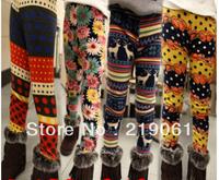 Wholesale 2013New 5pcs/lot children clothing Winter Children thick leggings girls skinny pants baby pants GK-289