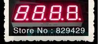 0.8 inch 4 digit red  four bit 7 segment led display  CC  12pins dip12 12p Digital tube  12pcs/lot Free shipping