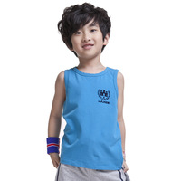 JJLKIDS New Boys Knitted Vest Sleevelsss Tee Shirt Boys Summer Tops Size 5-16 Yr