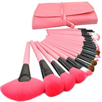 Make up for you Brand Pink Makeup Brushes Set & Kits 24 pcs 24pcs Makeup Brush Set Professional Brushes For Makeup Makeup Tools