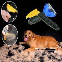 Free Shipping  pet dog cat Depilates comb magic comb hair removal pet comb animal fur