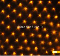 EU Plug 220V-240V 2x 2m 144 leds super bright LED net string light Web lighting Christmas lights for party wedding decoration