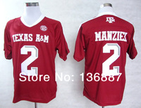 2012 New Style,Texas A&M Aggies #2 Johnny Manziel Jersey,Men's College Football Authentic Techfit Jerseys,Embroidery Logos