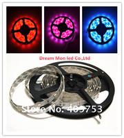 12V Non-Waterproof 5050 LED Strip Light 30LEDs/M 10M/Lot 5M/Roll single color/RGB