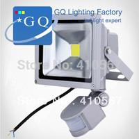 10W 20W 30W 50W 70W 100W 200W DC 12V or 24V LED flood Light search projector lamp detective Sensor lamp  PIR Motion sensor Sense