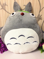 Retail Hot Sale Kawaii Cartoon Totoro Plush Toys for children 40cm Winter hand warmer plush doll Best gift for girlfriend