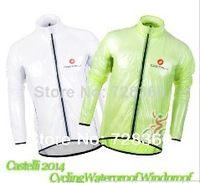 ropa ciclismo! Portable super light for castelli cycling raincoat/ Windbreaker,cycling rain jacket,transparent raincoat!Monton C