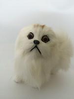 Simulation Dog - Hard PVC and Plush Fur Toy