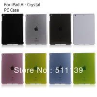 New Crystal Hard Back Case Smart Cover Partner For iPad Air/iPad 5 Free Shipping