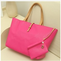 2014 fashion women designers handbags high quality shoulder bags for woman genuine PU leather organizer totes