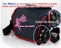 Camera Case Bag for Nikon J1 J2 J3 V1 V2 V3 S1 COOLPIX-A S3500 S4400 L820 L810 L620 L620 L320 L310 P7700 P7100