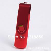 Wholesale custom OTG micro usb Smart Phone USB Flash Drives ,100pcs/lot Free shipping