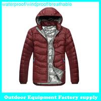 New Arrival fashion brand Winter keep warm Outdoor Windbreaker waterproof breathable duck Padded Jacket Sport down coat men