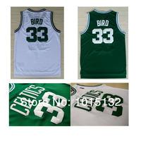 Larry Bird Jersey Boston #33 Men Sports Basketball Jersey Throwback Wholesale Free Shipping
