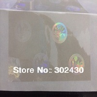 overlay hologram sticker