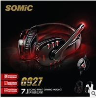 SOMIC 7.1 Surround Sound Game Stereo Gaming Headset Earphones&Headphones Power Bass with Mic Brand NEW Free Shipping