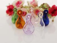 20PCS 18x32MM Perfume vial pendant,Aroma vial pendant,murano glass essential oil diffuser bottle pendant