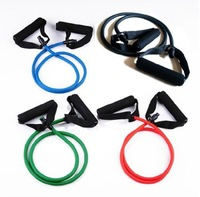 A Heavy Resistance Exercise Band Workout Stretch Fitness Tube Yoga Latex Rope Equipment Fitness Band