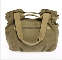 The new, canvas, leisure, one shoulder, oblique cross, handbags, fashion, pack dumpling